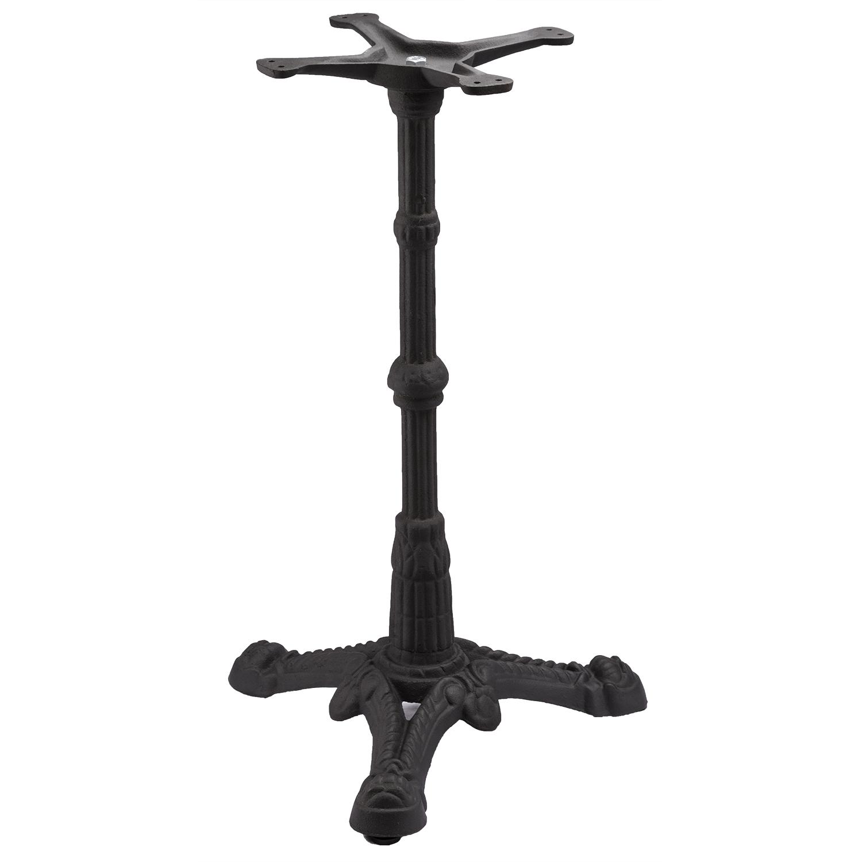 Bistro 3 Black Table Base | Tablebases.com   Quality Table Bases, Metal Table  Legs U0026 Restaurant Pedestals