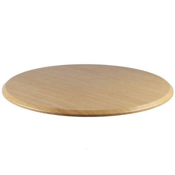 "42"" Round Topalit Table Top - Light Oak"