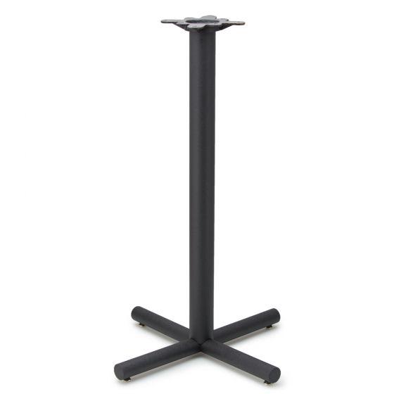 "AS26 Black Table Base - 3"" Diameter Column - Bar Height"