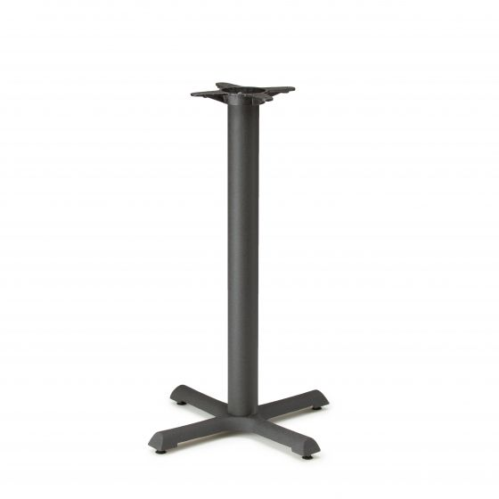 "B22 Black Table Base - Counter Height (34 3/4"")"