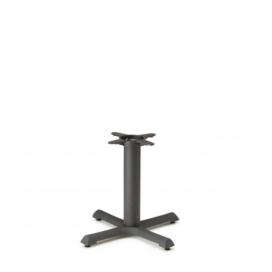 """B22 Black Table Base - Coffee Table Height (18"""")"""