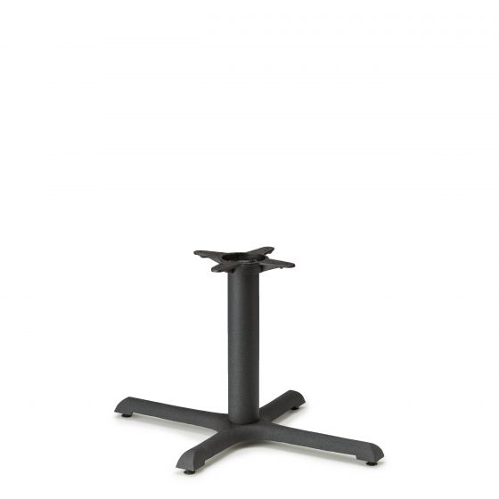 """B2230 Black Table Base - Coffee Table Height (18"""")"""