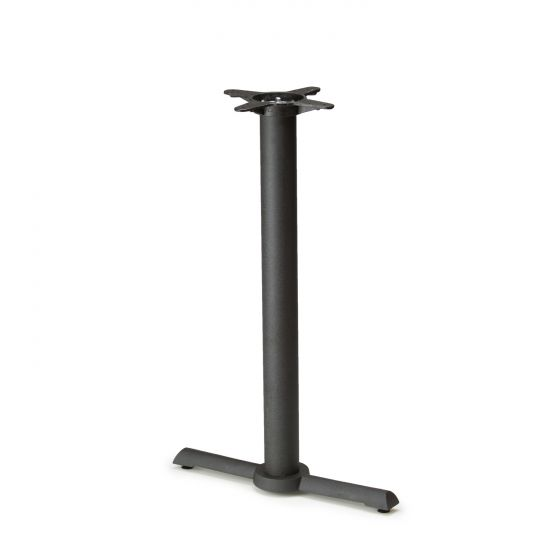 """B22T Black Table Base - Counter Height (34 3/4"""")"""