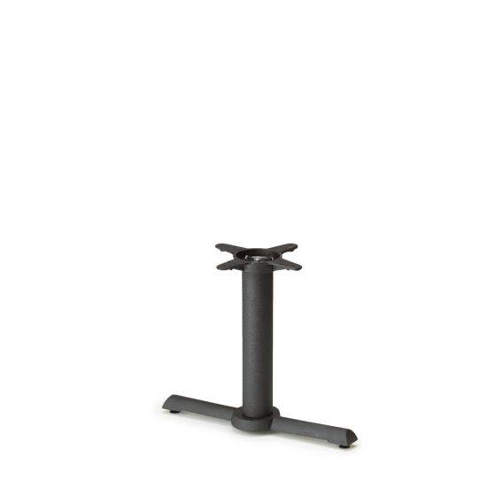 """B22T Black Table Base - Coffee Table Height (18"""")"""