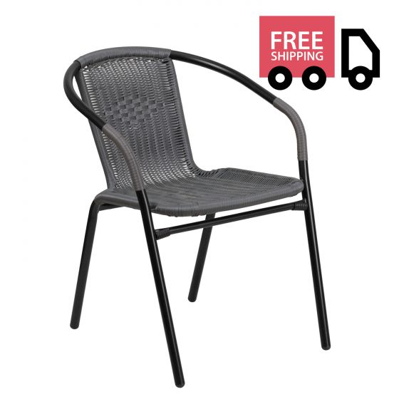 Steel Indoor & Outdoor Rattan Chair