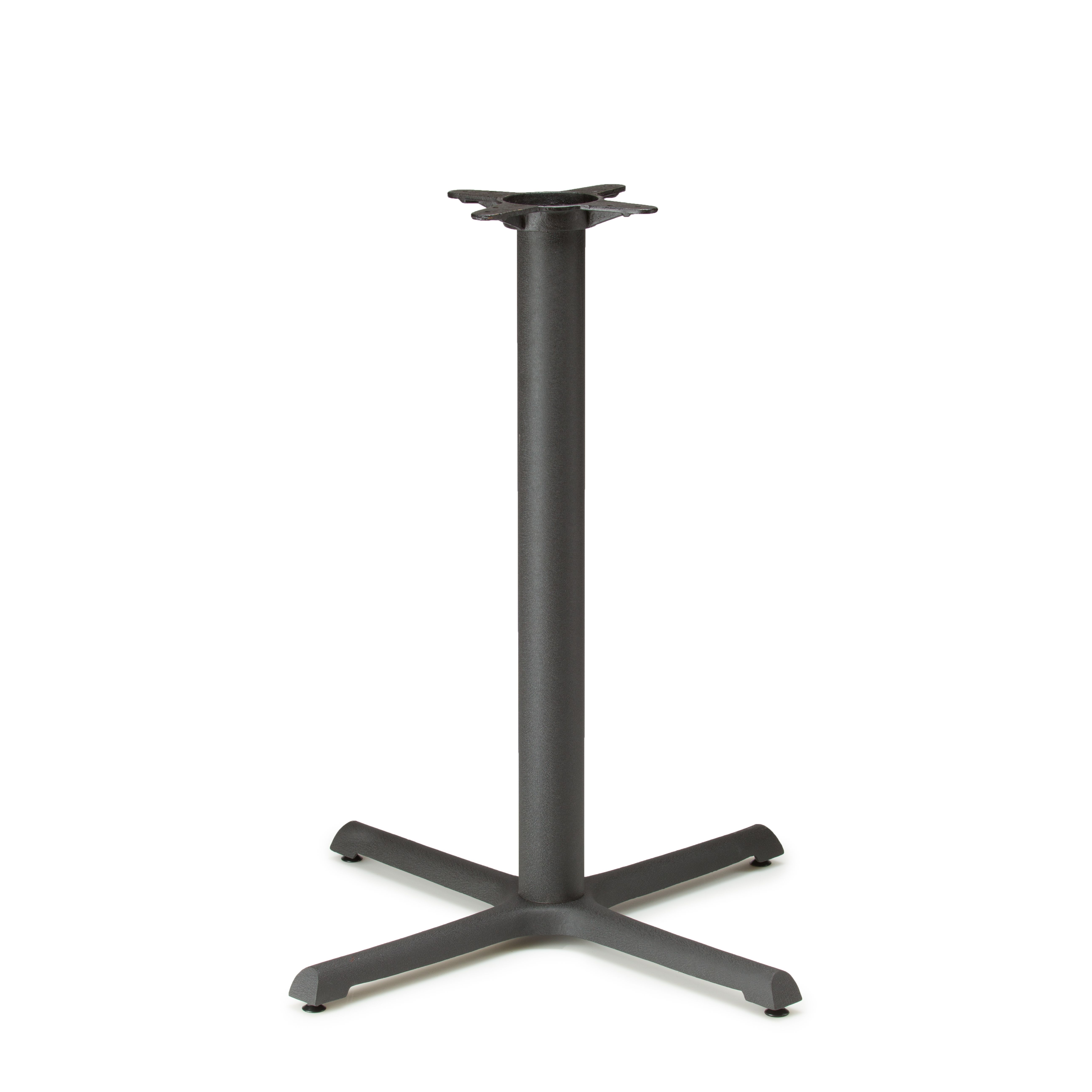 "B30 Black Table Base - Counter Height (34 3/4"")"