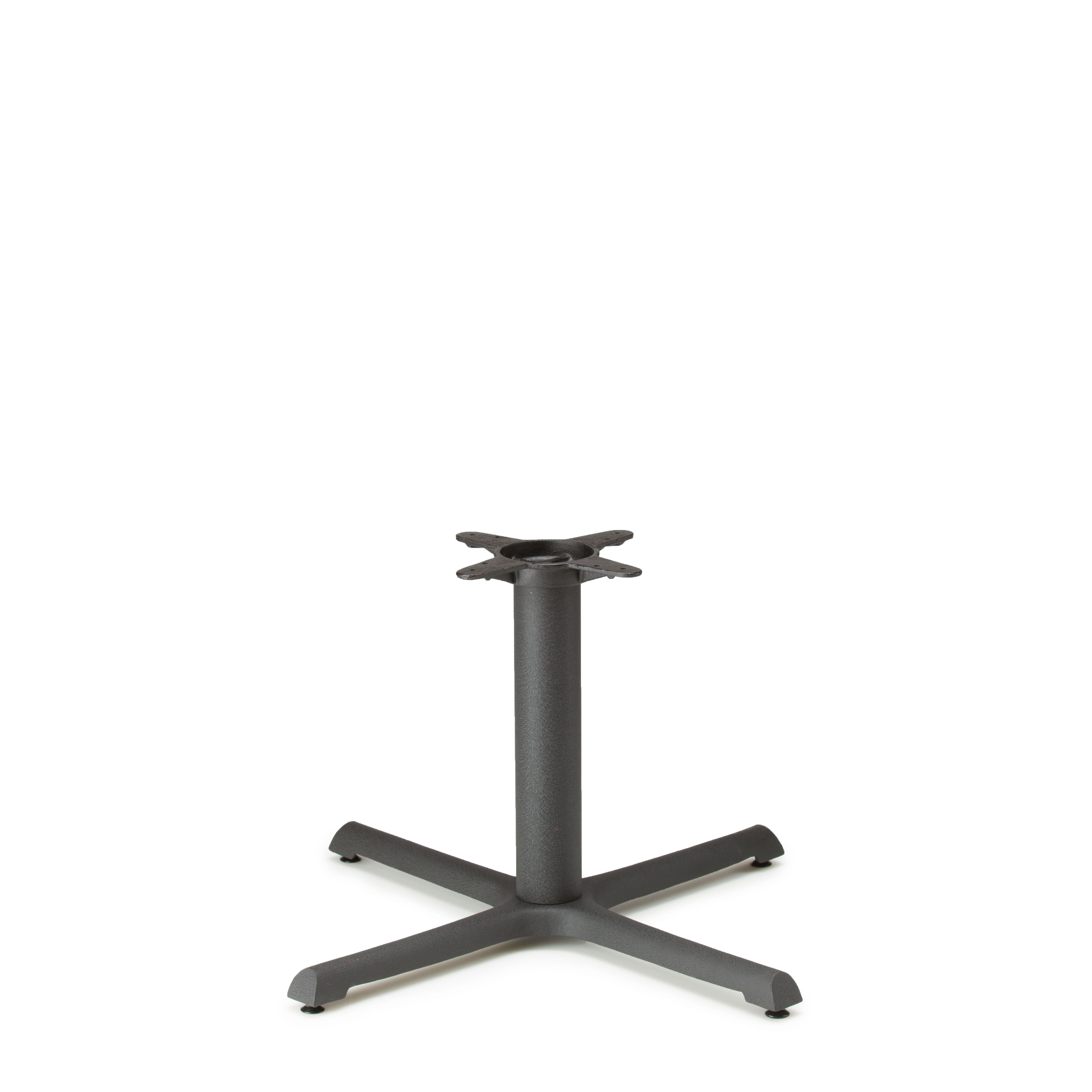 "B30 Black Table Base - Coffee Table Height (18"")"