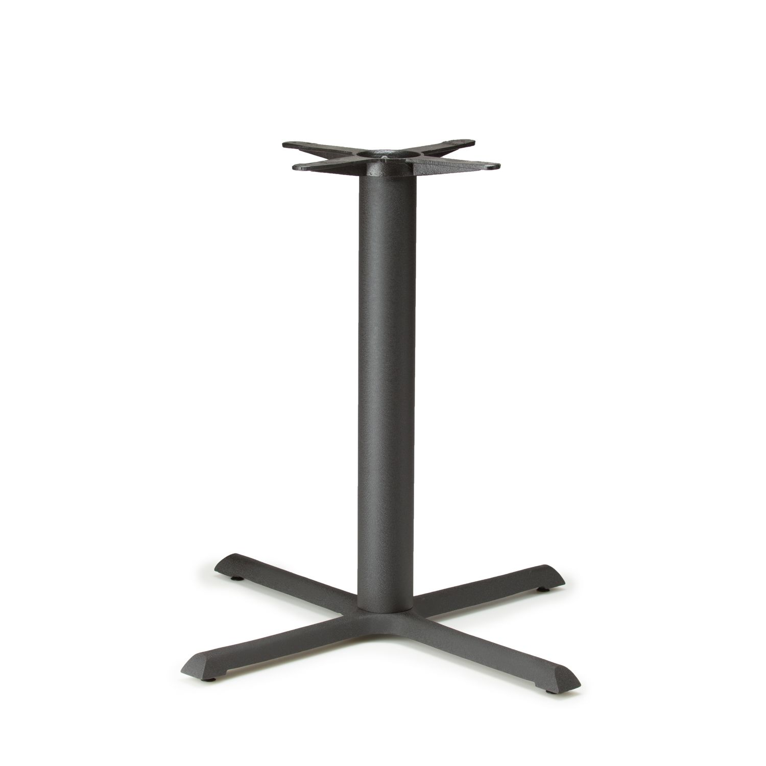 """B36 Black Table Base - Counter Height (34 3/4"""")"""