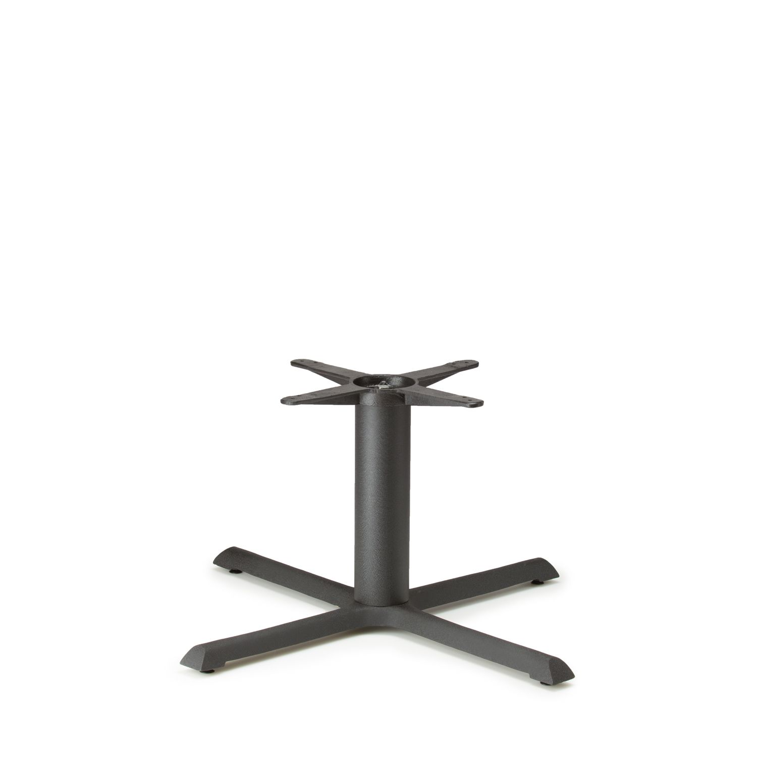 """B36 Black Table Base - Coffee Table Height (18"""")"""