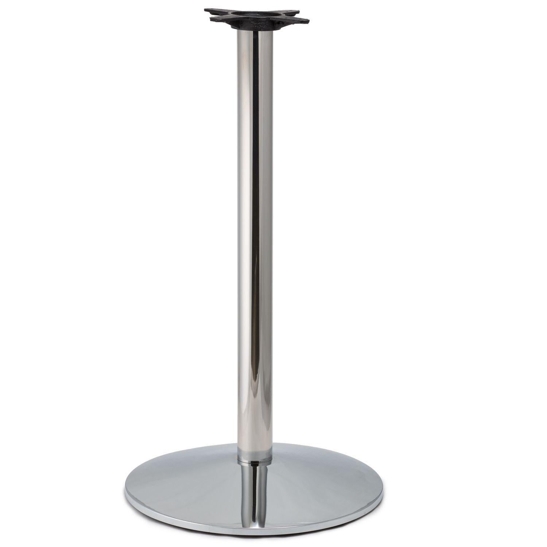 CR22 Chrome - Medium Weight Table Base - Bar Height