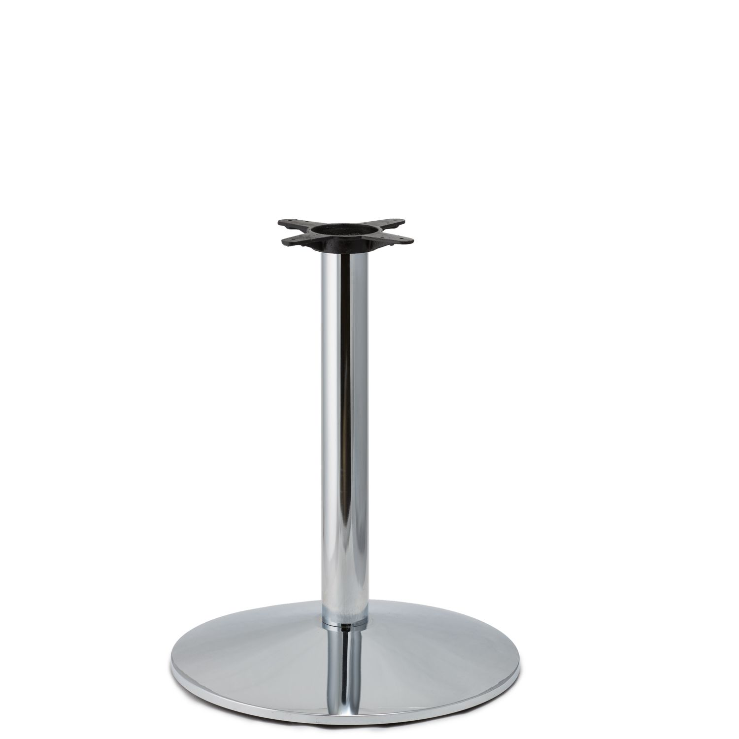 C22 Chrome - Medium Weight Table Base - Dining Height