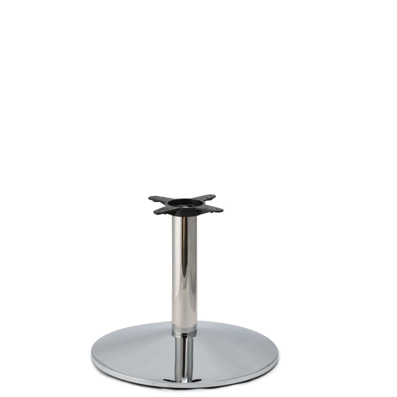 CR22 Chrome - Medium Weight Table Base - Coffee Table Height