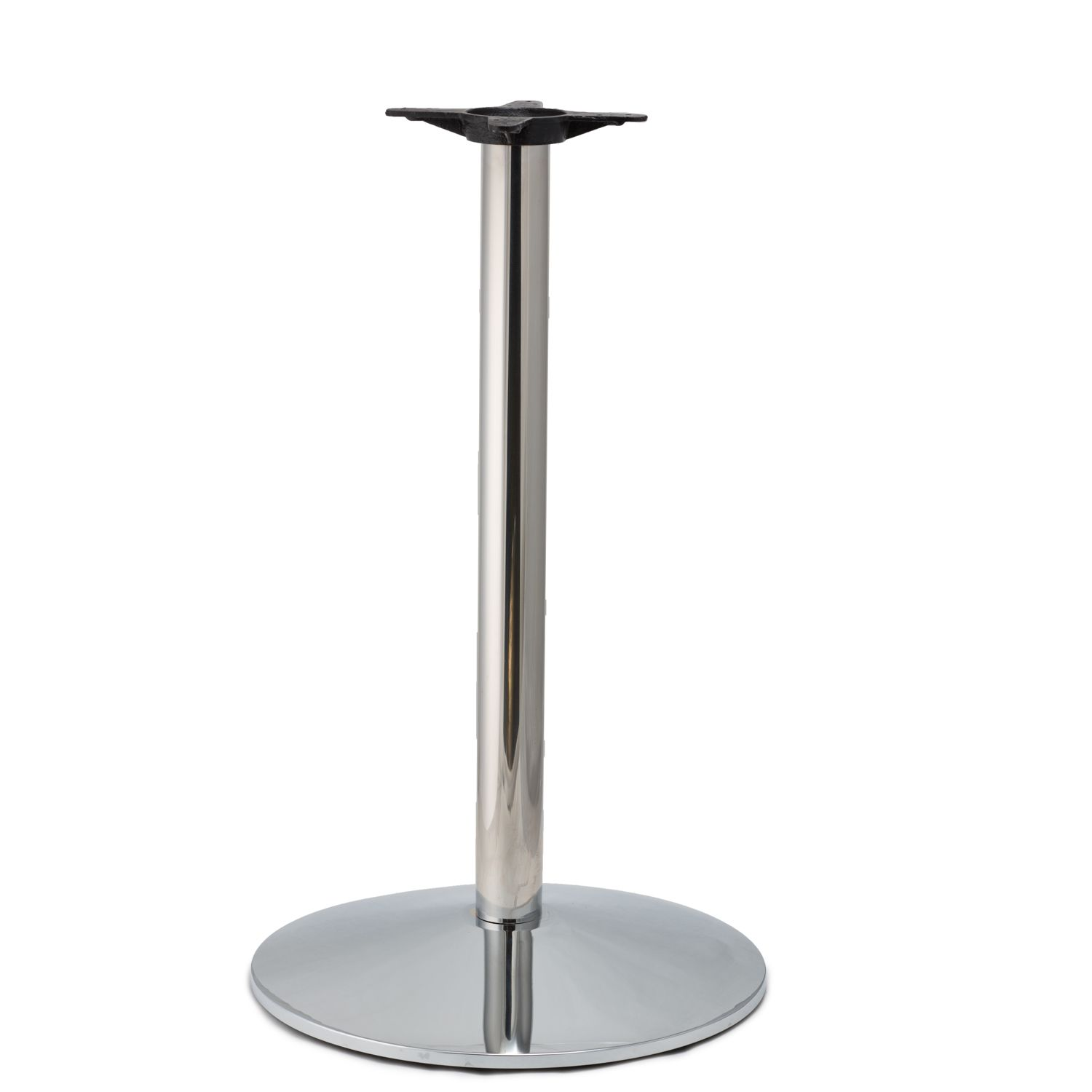CR22 Chrome - Medium Weight Table Base - Counter Height