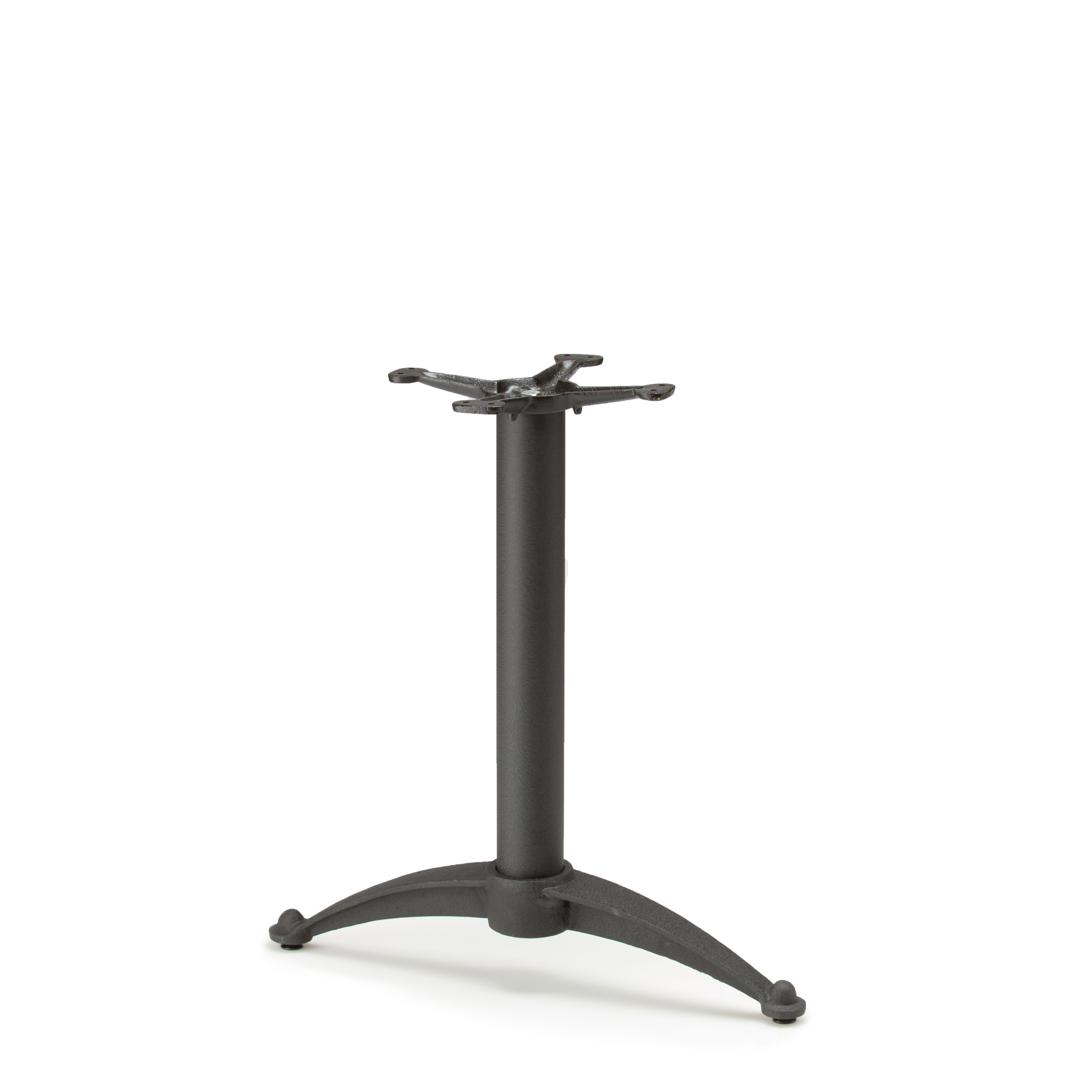 """N26T - Black Table Base - Dining Height (28"""")"""
