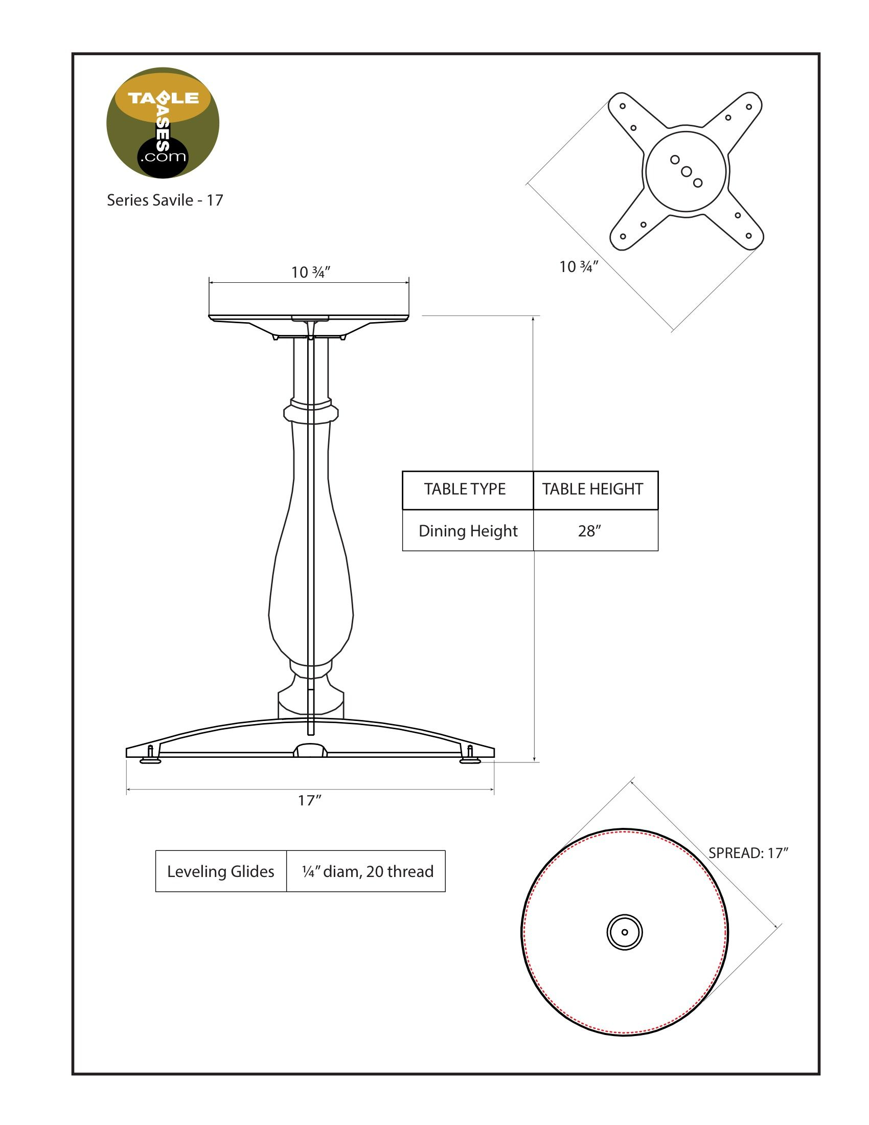 Savile-17 Specifications