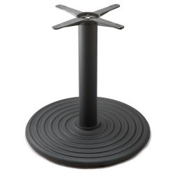 I28 Black Table Base