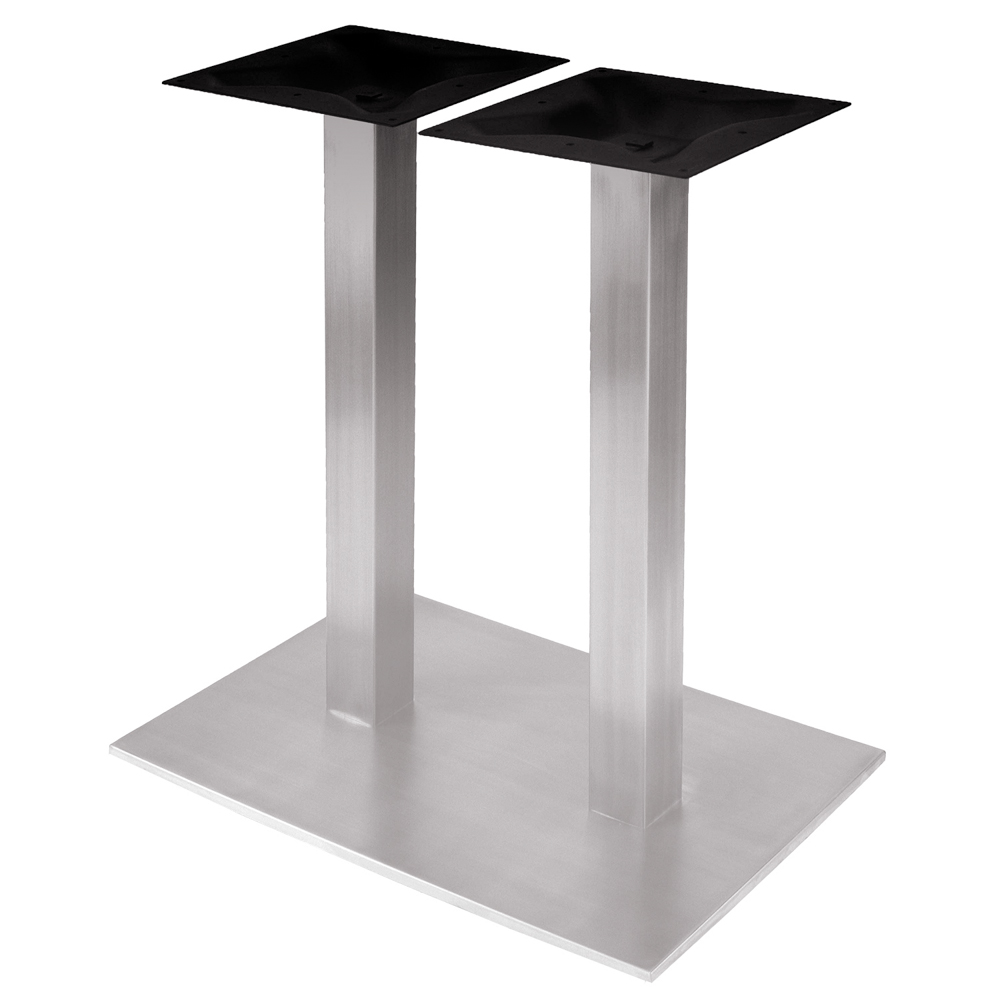 RSQ1828 Stainless Steel Table Base Dining Height 28 1 4
