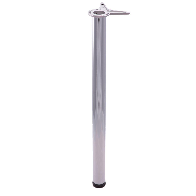 Polished Chrome Bar Height