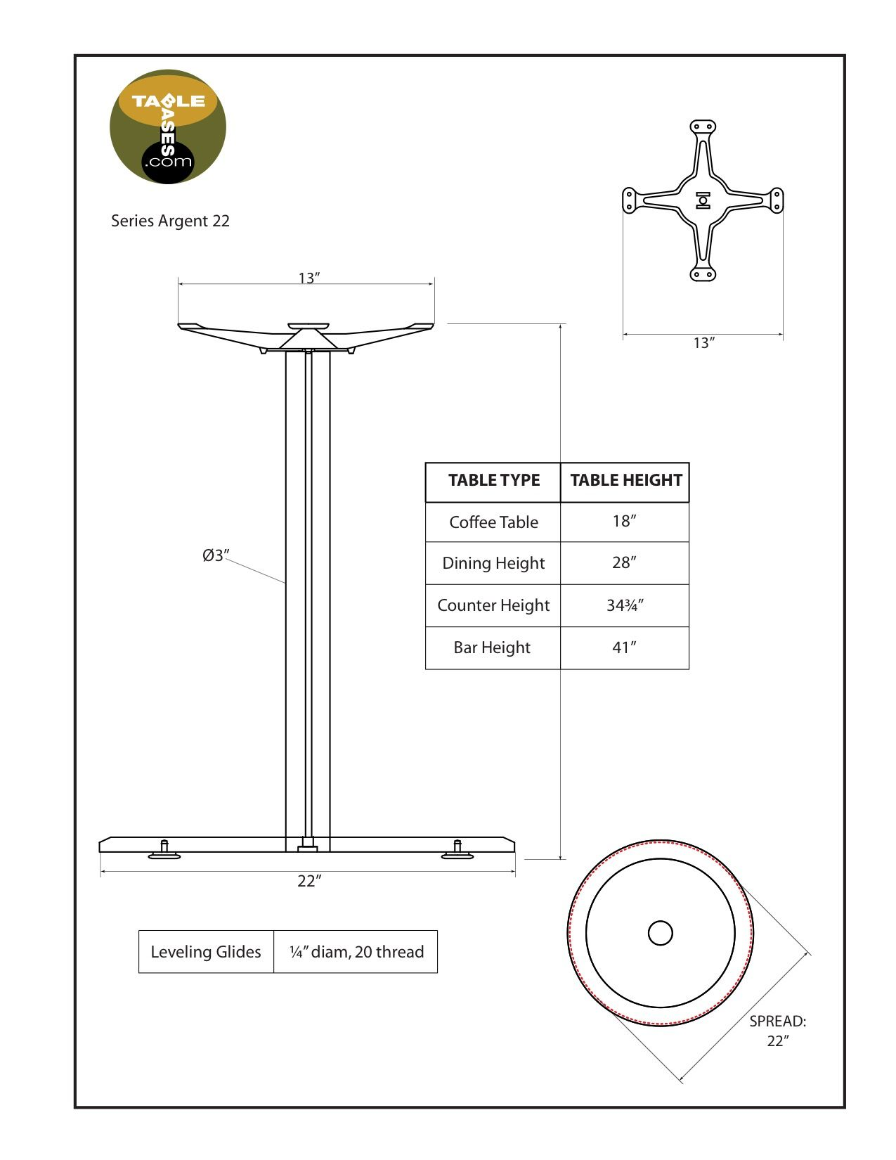 Argent-22 Specifications
