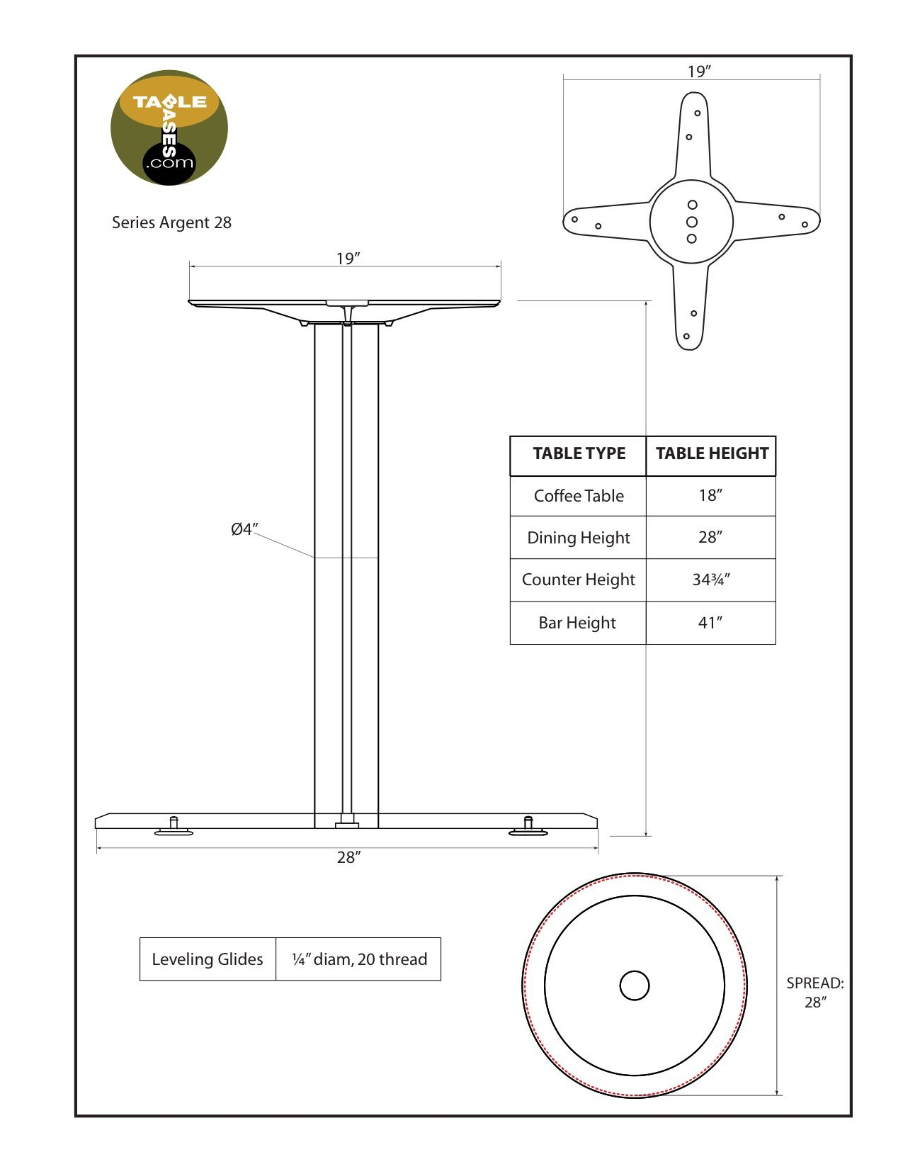 Argent-28 Specifications