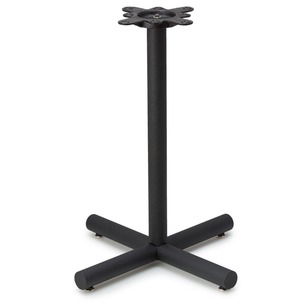 "AS22 - Black Table Base - 2"" Diameter Column - Dining Height (28"")"