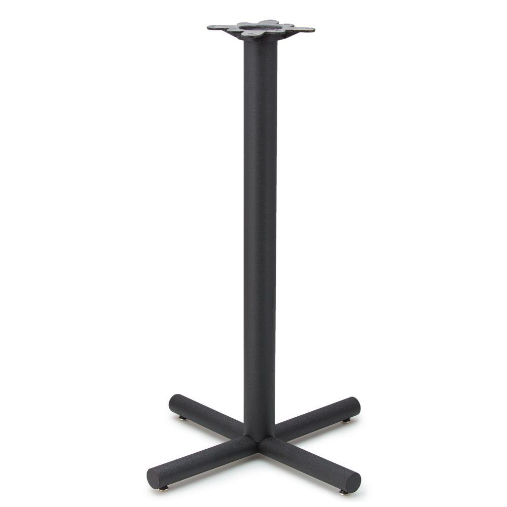 "AS26 - Black Table Base - 3"" column - Bar Height"