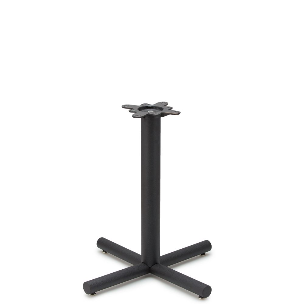 """AS26 - Black Table Base - 3"""" Column - Dining Height"""