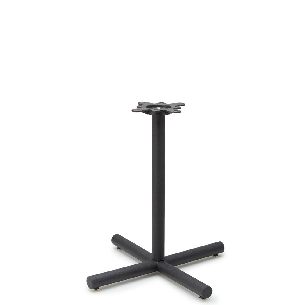 """AS26 - Black Table Base - 2"""" Column - Dining Height"""