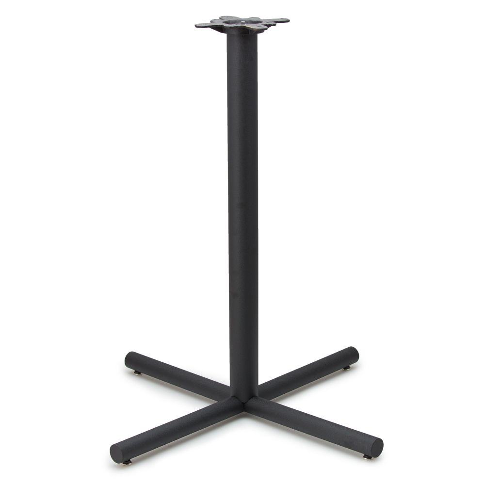 "AS36 - Black Table Base - 3"" dia. Column - Bar Height (41"")"