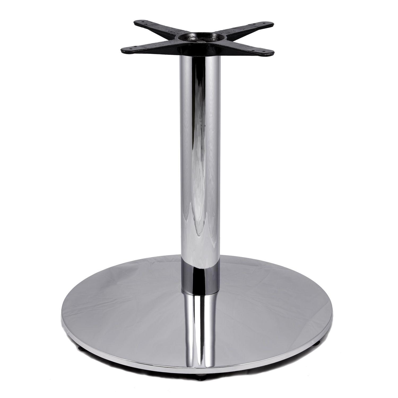 C28 Chrome Table Base