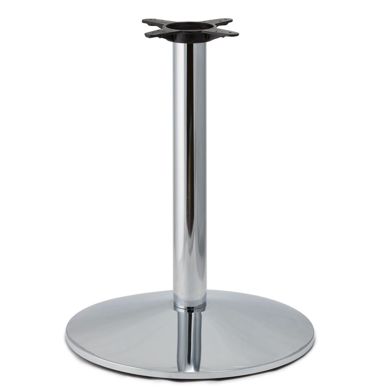 CR22 Chrome - Medium Weight Table Base