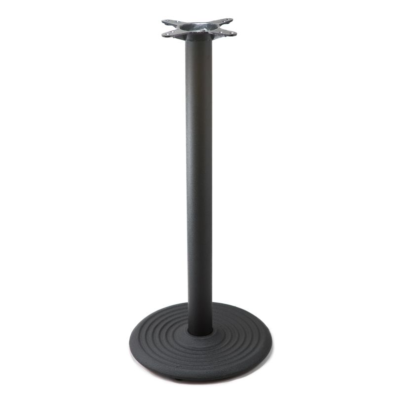 I18 Black Table Base - Bar Height