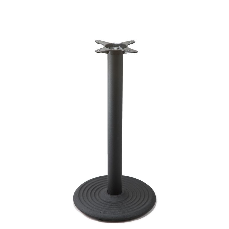 I18 Black Table Base - Counter Height