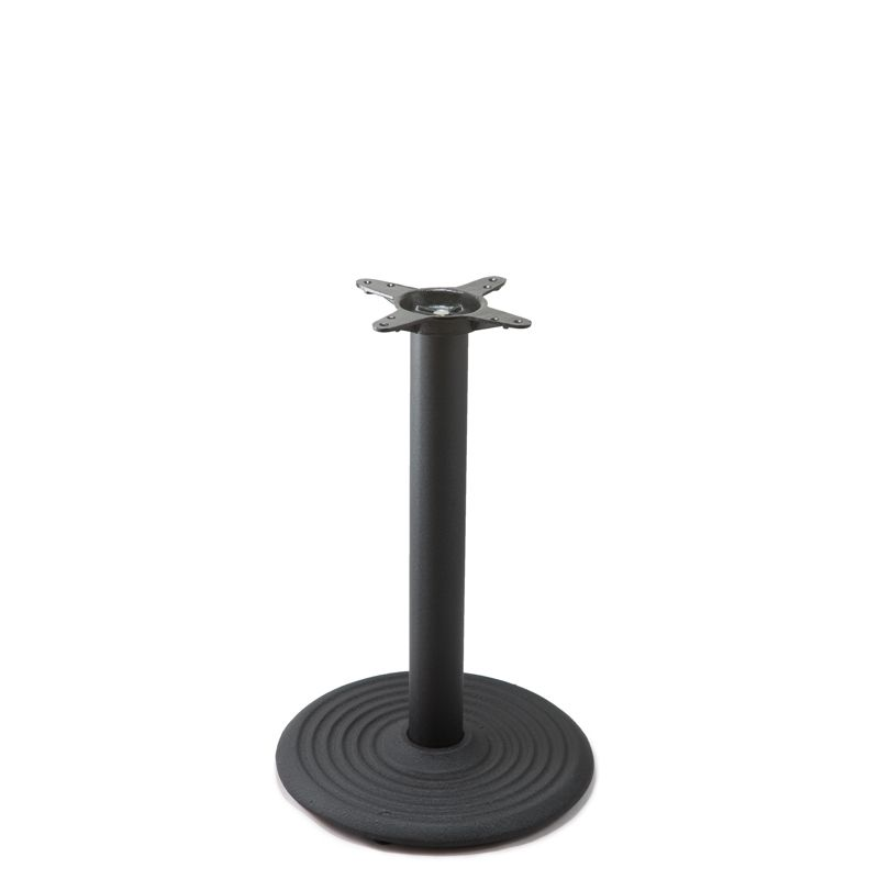 I18 Black Table Base - Dining Height