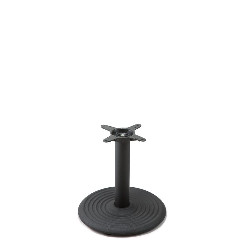 I18 Black Table Base - Coffee Table Height