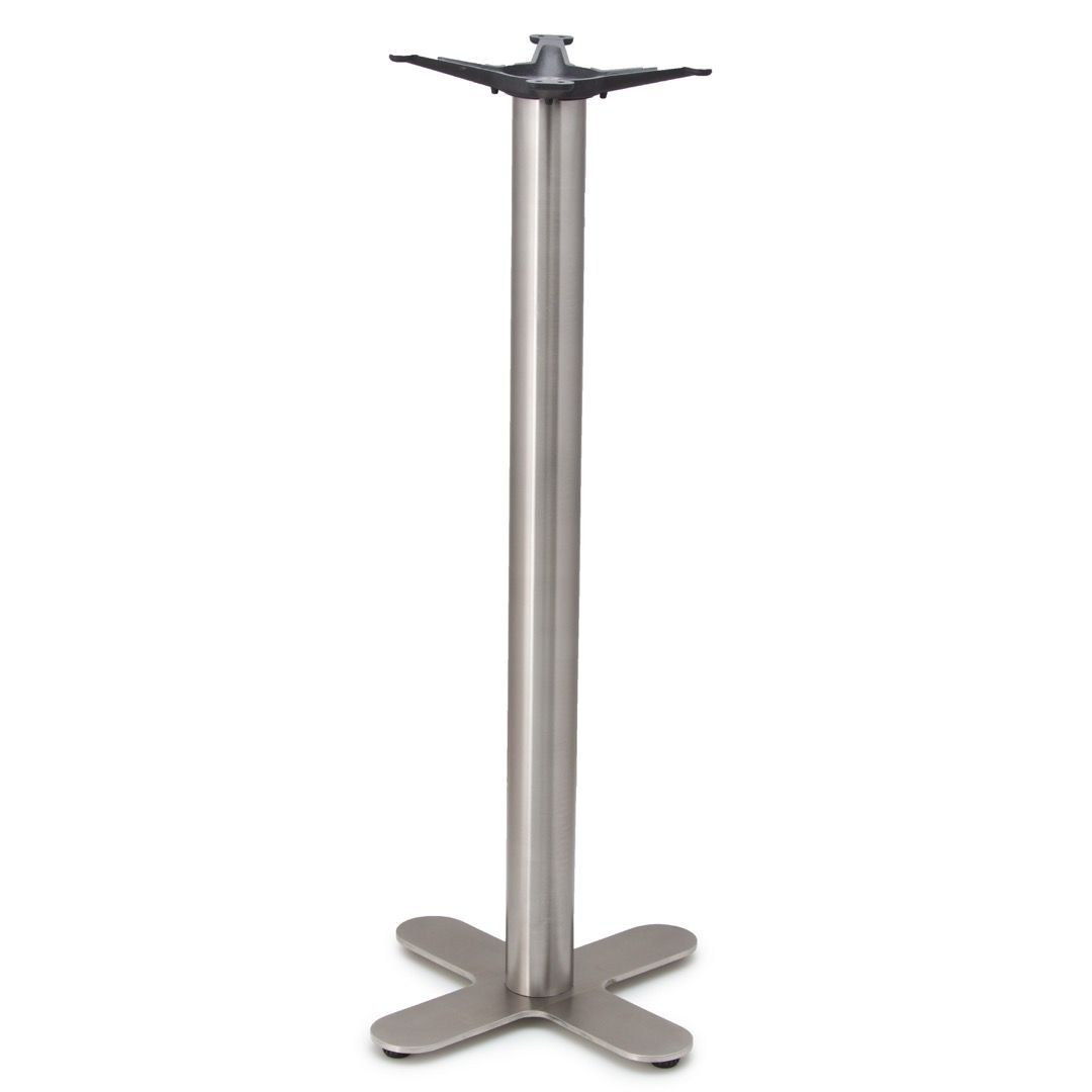 JSX18 - Stainless Steel Table Base - Bar Height