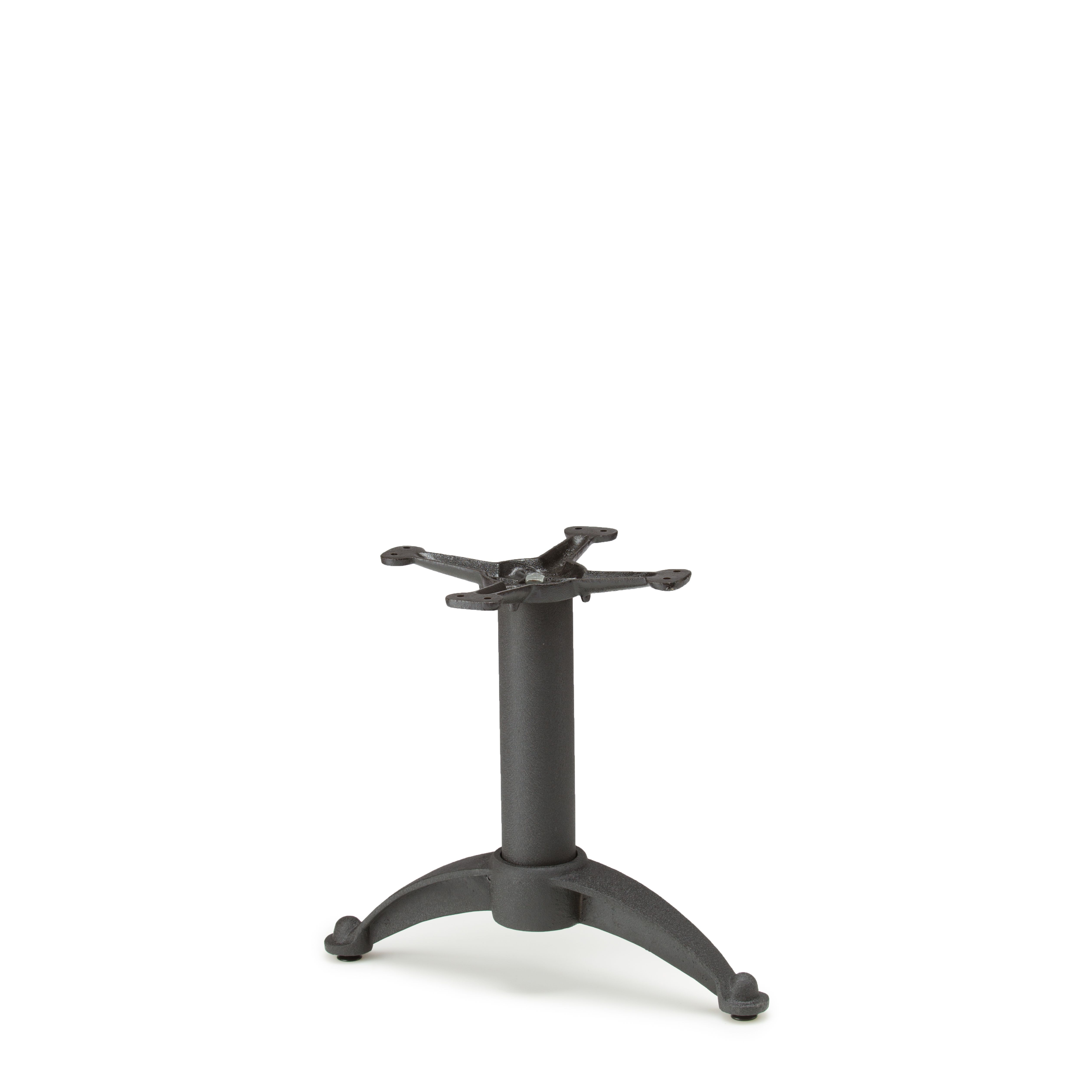 """N20T - Black Table Base - Coffee Table Height (18"""")"""