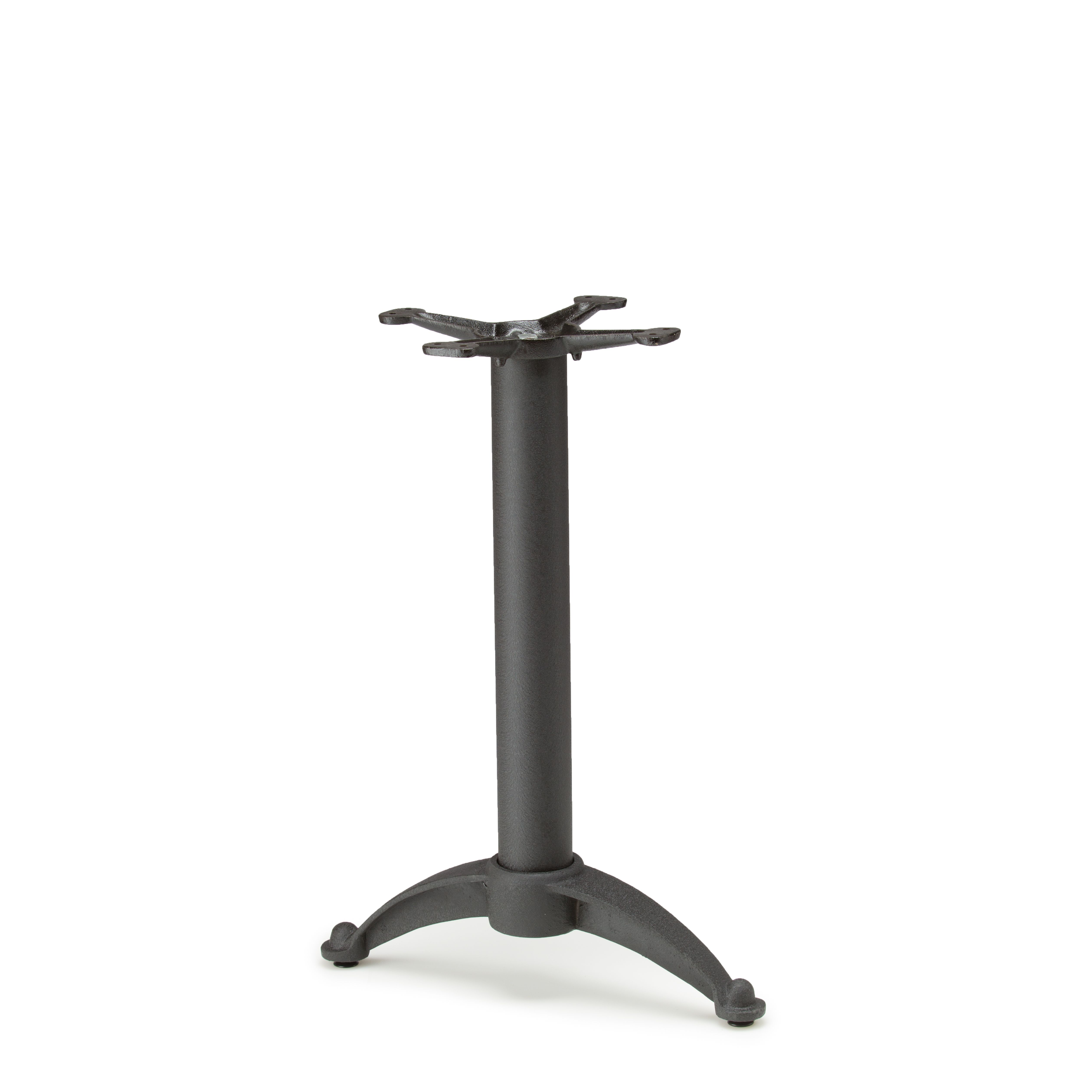 """N20T - Black Table Base - Dining Height (28"""")"""