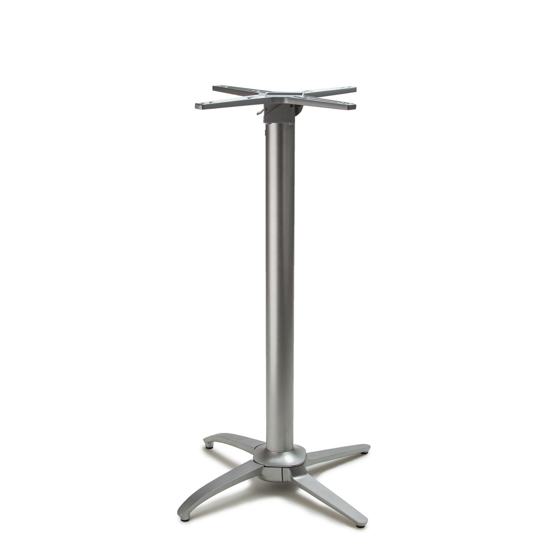 No-Rock Terrace Metallic Silver - Self Stabilizing Table Base