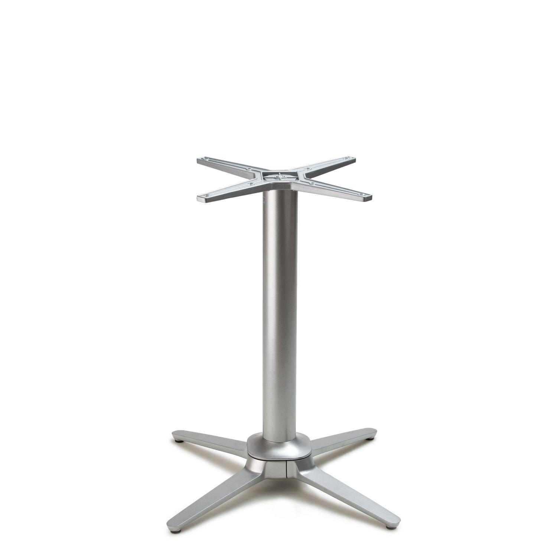 No-Rock Esplanade Metallic Silver - Self-Stabilizing Table Bases