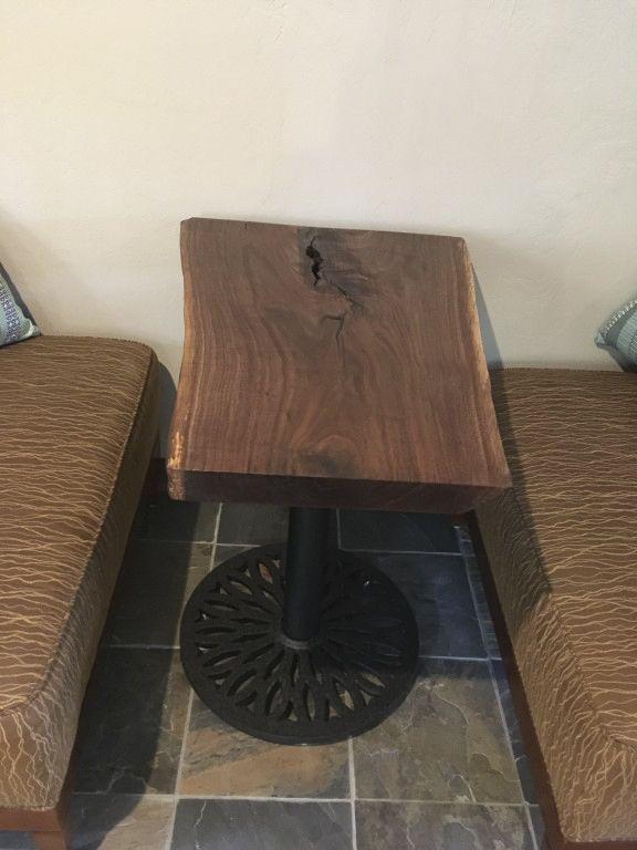 E Series Black Table Base