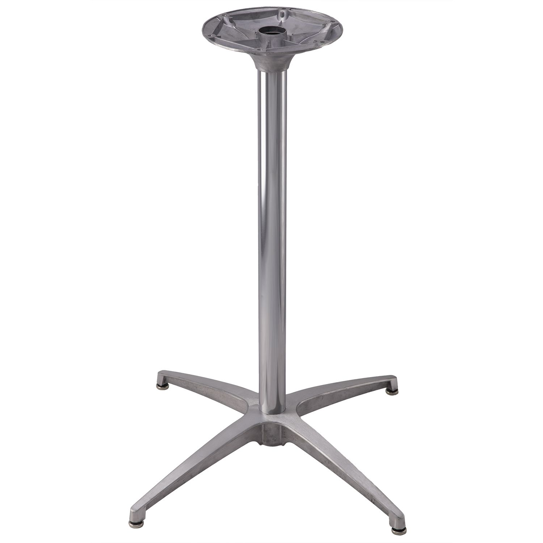 TS24 Brushed Aluminum Table Base