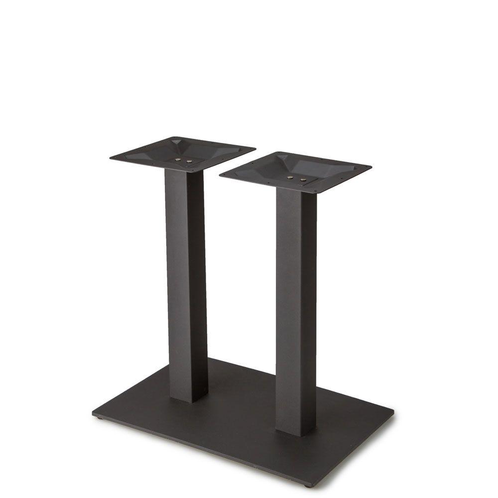 "Plaza-1828 Black Satin Table Base - Dining Height (28"")"