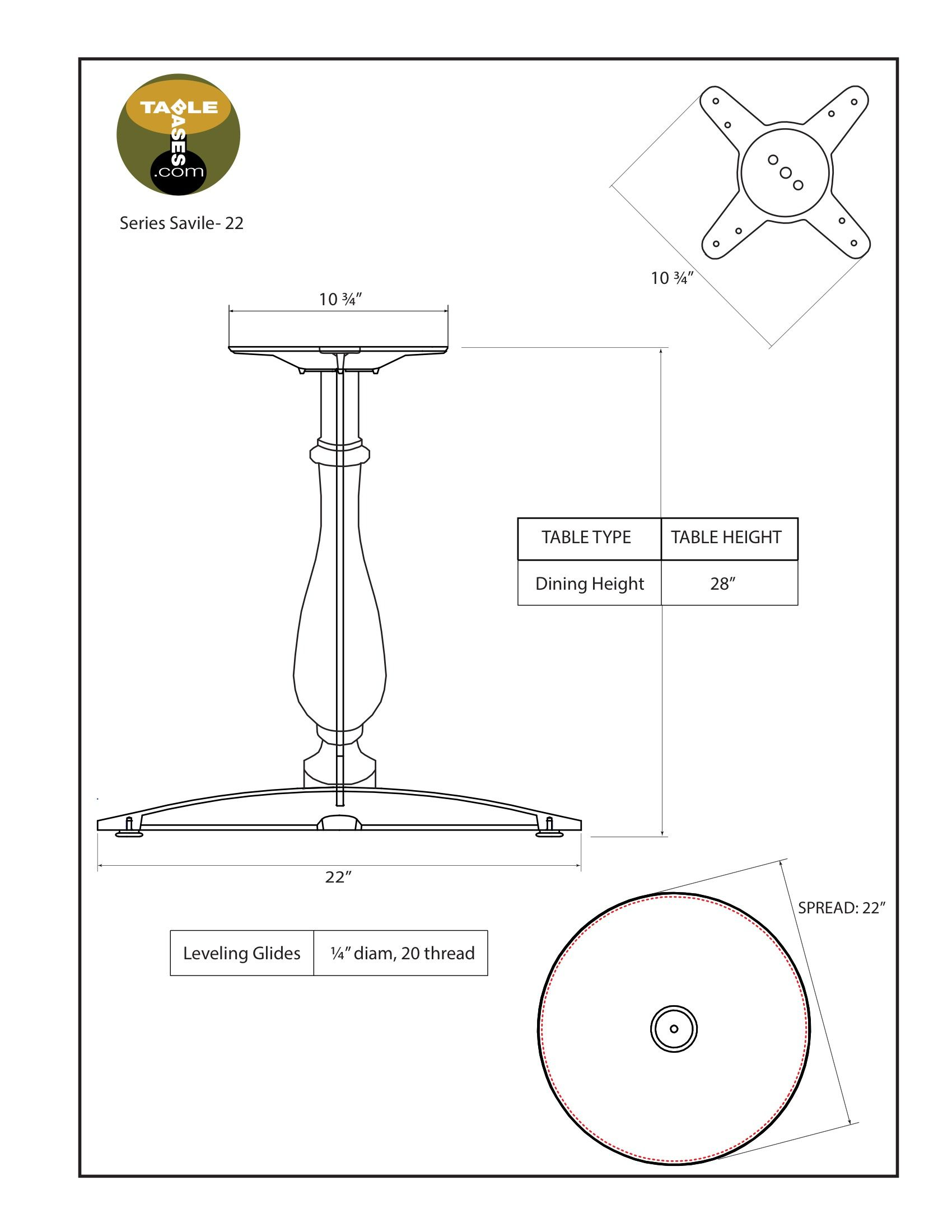 Savile-22 Specifications