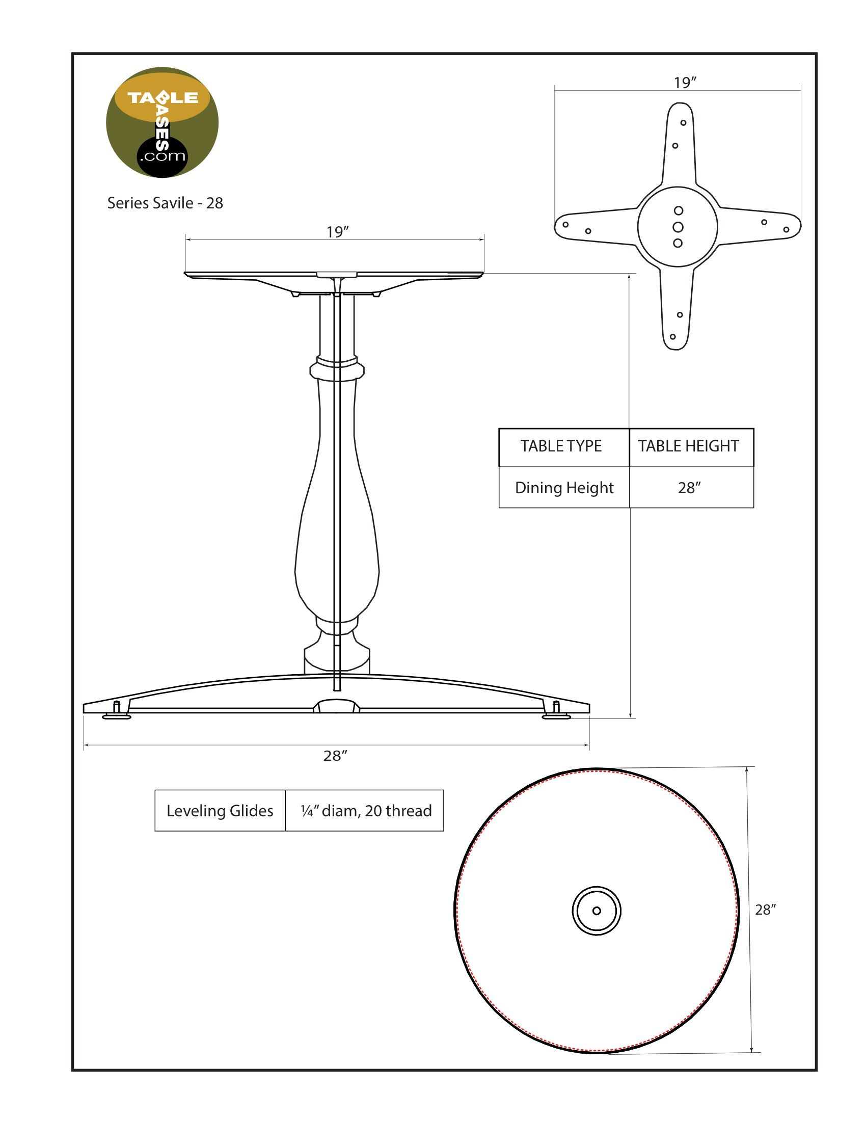 Savile-28 Specifications