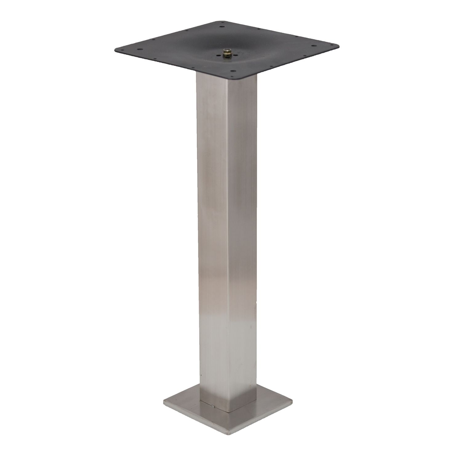 Square Eclipse Bolt Down - Stainless Steel Table Base (Table Base)