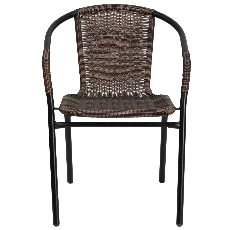 Steel Indoor & Outdoor Rattan Chair