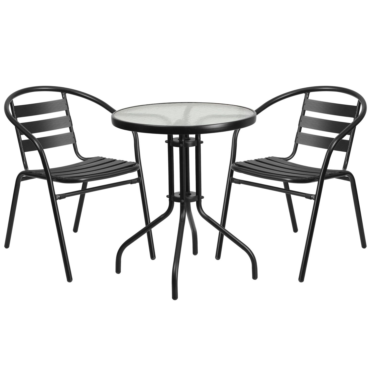 """24"""" Round Glass Patio Table"""