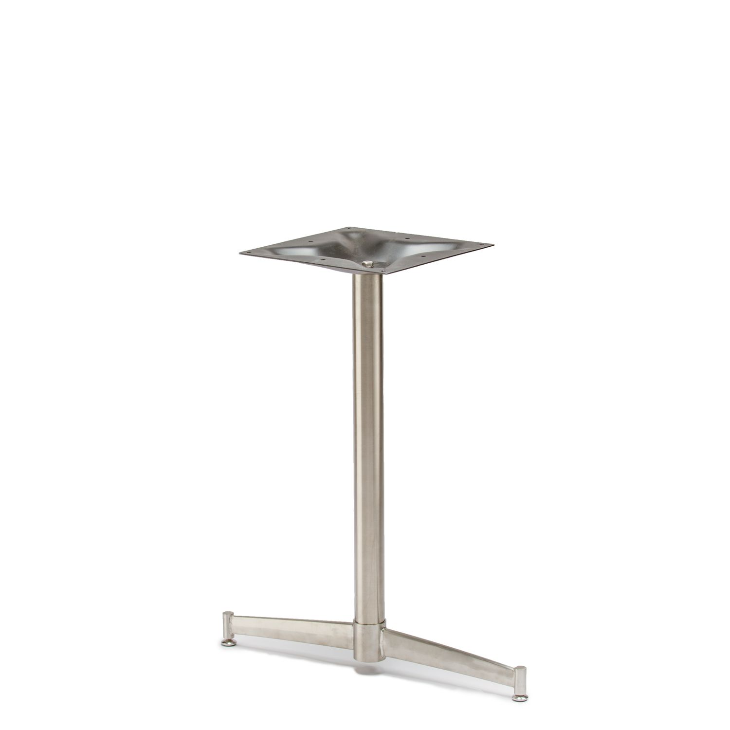 Turin 22t Stainless Steel Table Base Dining Height 28 1 4