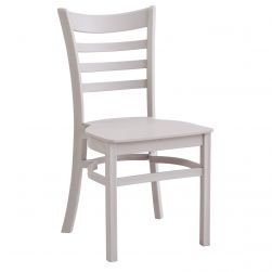 All-Weather Ladder Back Chair - Gray